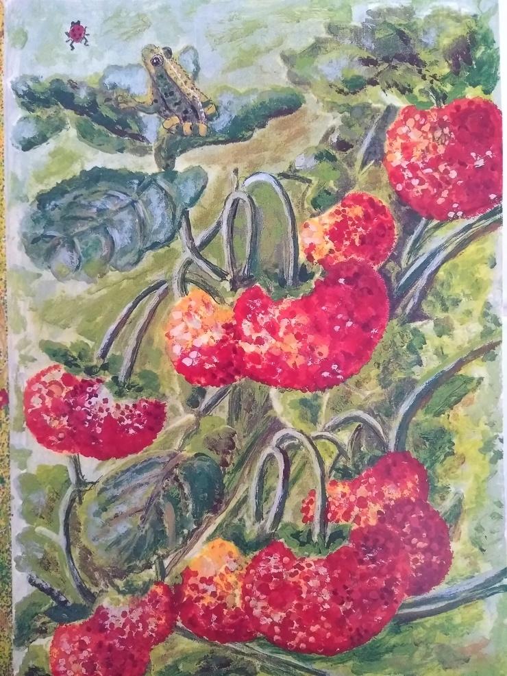 FrogStrawberries