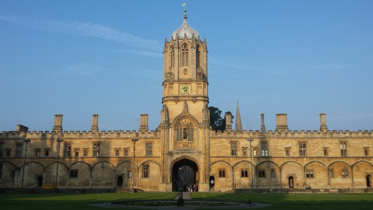 Christ Church Oxford - Tom Quad and Tom Gate