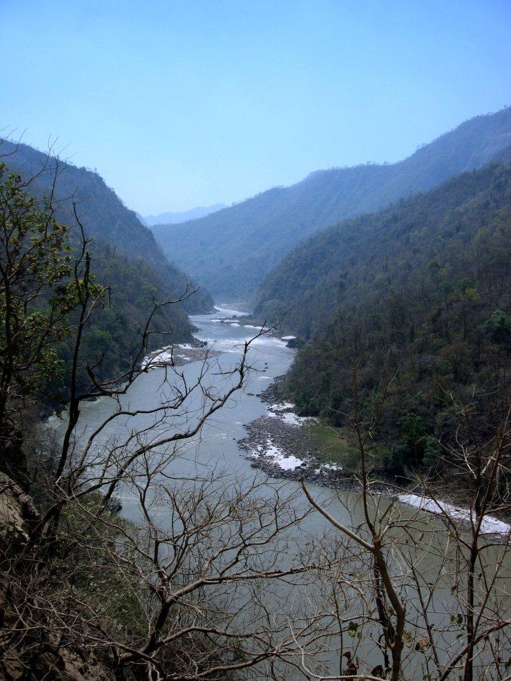 RiverGangesShivalikRangesRishikesh