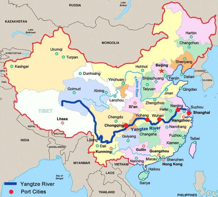 YangtzeRiverMap