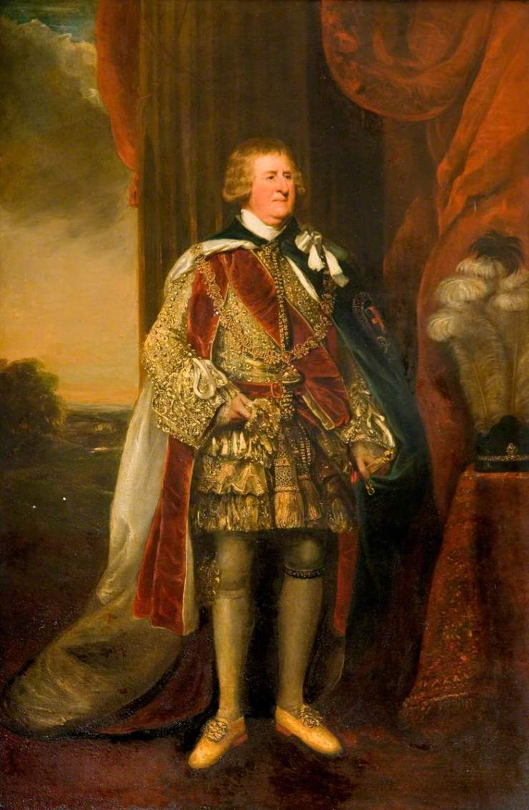 unknown artist; George Granville (1758-1833), 2nd Marquis of Stafford, 1st Duke of Sutherland